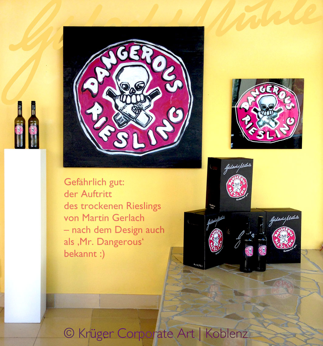 dangerous riesling krueger corporate art koblenz